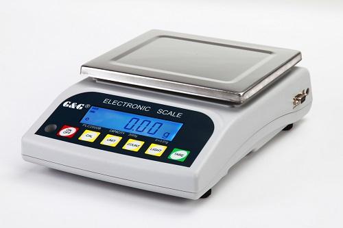 G/&G KF Küchenwaage /& Feinwaage 500g 1g bis 0,01g genau 3kg mit:10kg 6kg